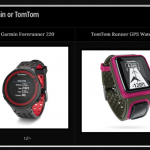 Garmin 220 or TomTom Runner