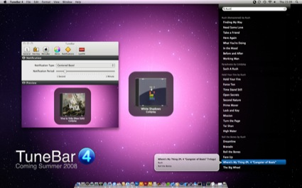 TuneBar 4 Sneak Preview